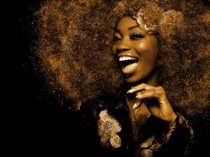 Afro Haare dauerhaft glätten